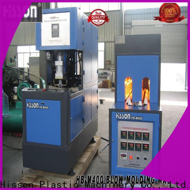 Hisson automatic pet bottle blow moulding machine suppliers for bottle