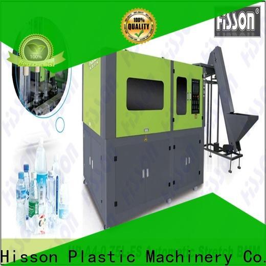 Hisson plastic semi automatic pet blow molding machine price in industrial