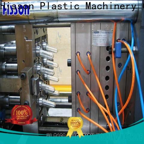 Hisson pvc pet injection moulding machine price supplier for bottle
