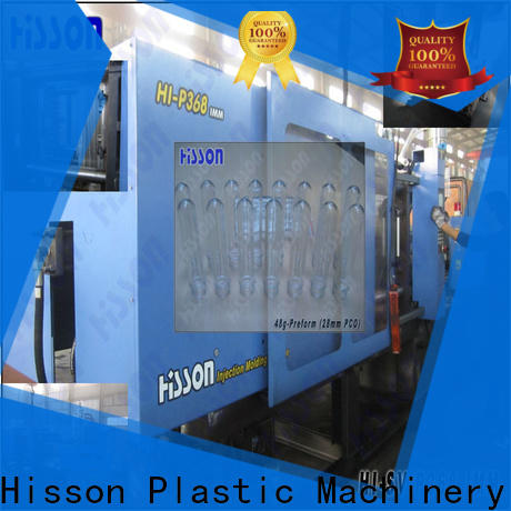 Hisson electric injection moulding machine wide for bottle