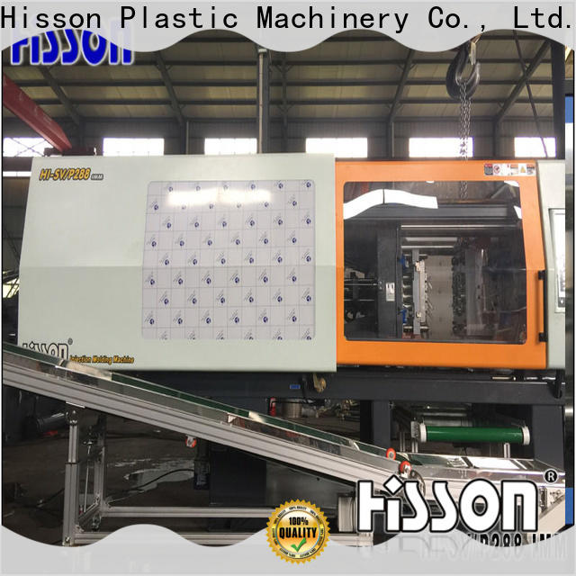 Hisson pco horizontal plastic injection moulding machine supplier in industrial