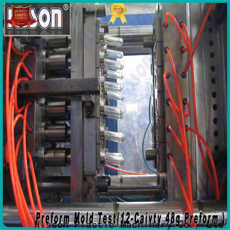 Hisson valve multi cavities PET preform mold manufacturers for bottle
