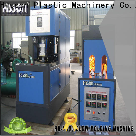 Hisson automatic extrusion blow molding machine price for bottle