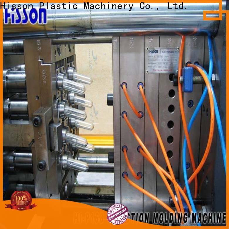 Hisson pvc pet preform molding machine wide in industrial