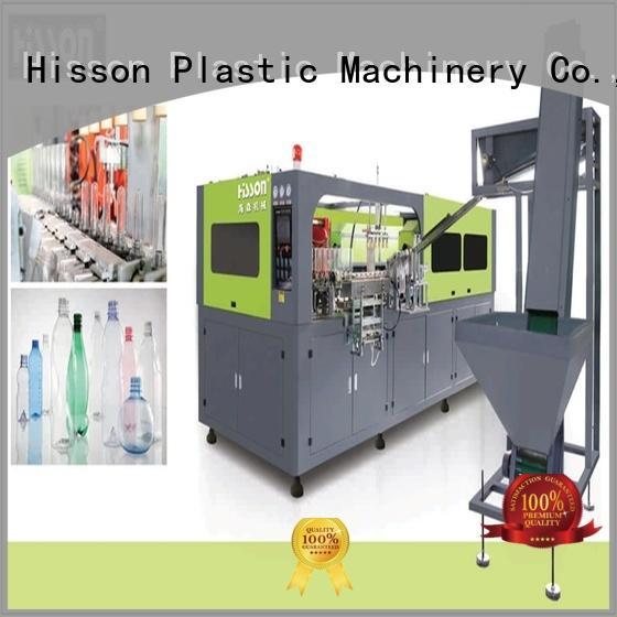 Hisson automatic pet bottle blow moulding machine china factory