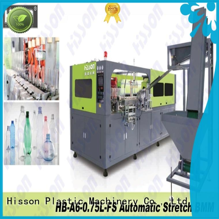 Hisson bottle pet bottle blow molding machine suppliers in industrial