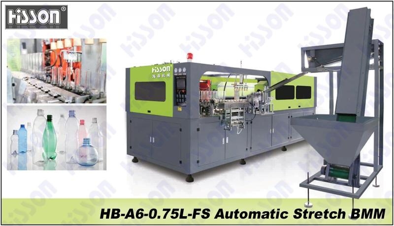 HB-A6-0.75L-FS 6-Cavity automatic blow molding machine