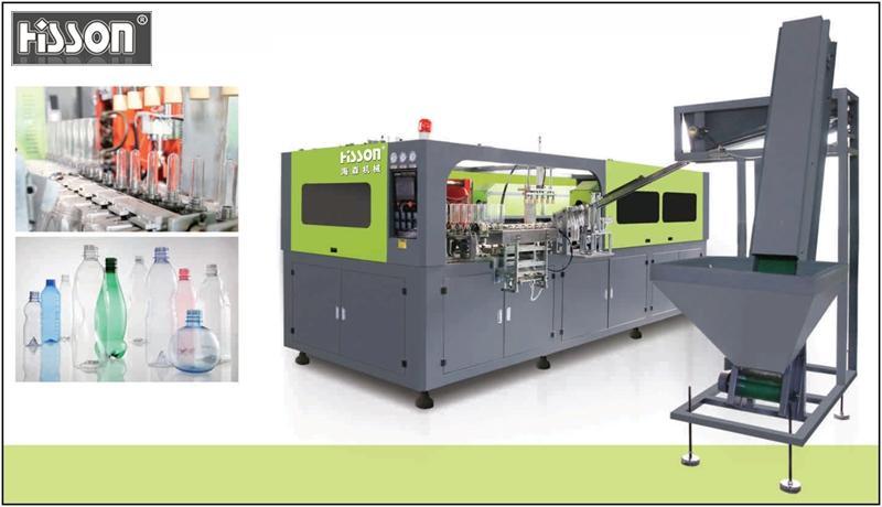 HB-A6-1.5L-SS 6-cavity automatic blow molding machine