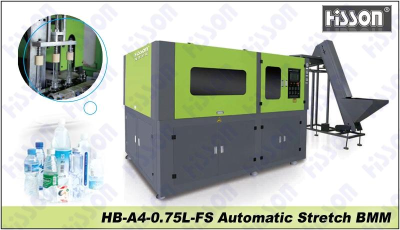 HB-A4-0.75L-FS 4-cavity automatic blow molding machine