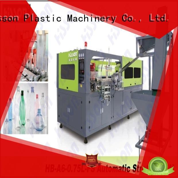 Hisson pet bottle machine factory for bottle