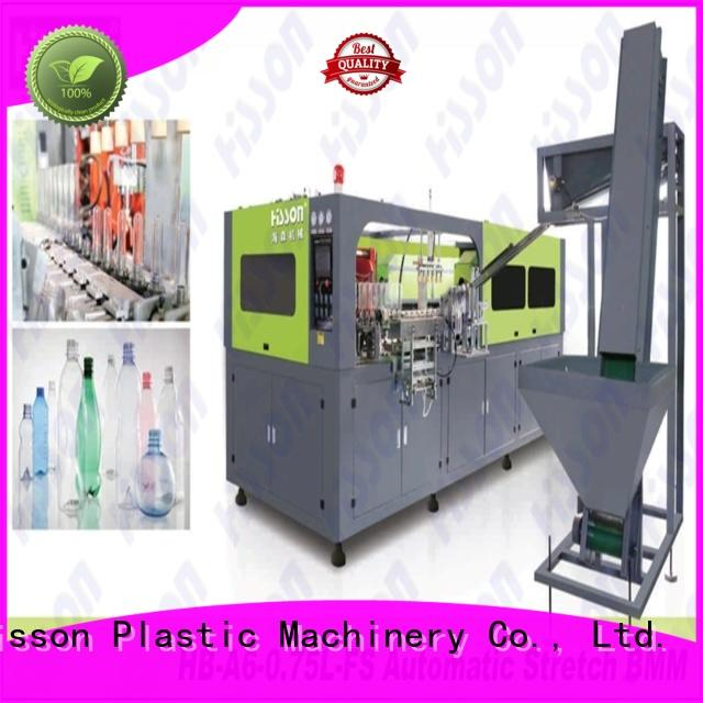 Hisson stretch blow molding machine price china for bottle
