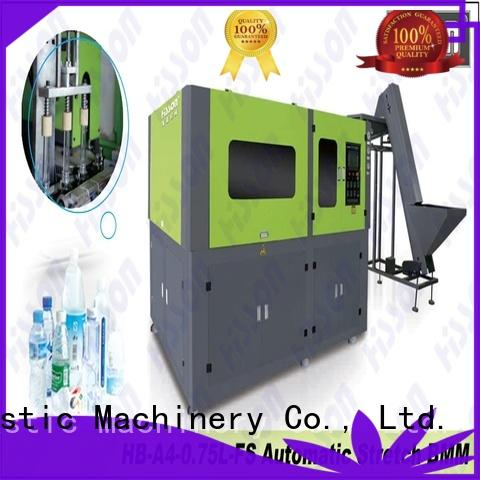 Hisson bottle blow molding machine factory in industrial