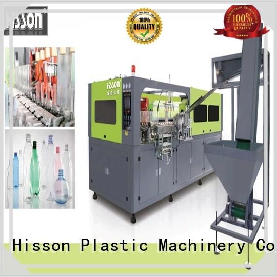 Hisson pet bottle blow molding machine factory in industrial