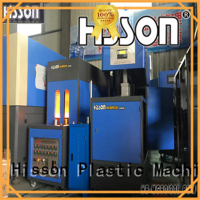 Hisson automatic plastic blow molding machine price for bottle