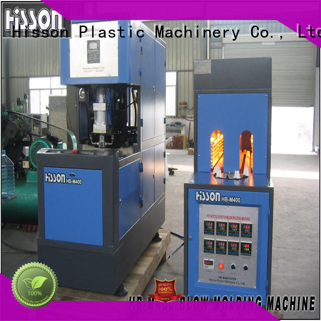 Hisson plastic extrusion blow molding machine price in industrial