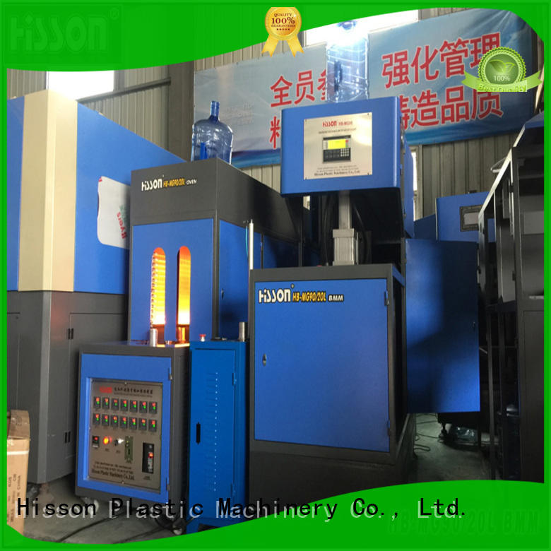 Hisson stretch stretch blow molding machine factory factory