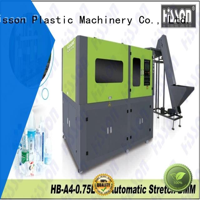 Hisson stretch blow molding machine price china factory