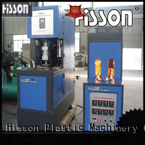 Hisson automatic pet blowing machine factory for bottle