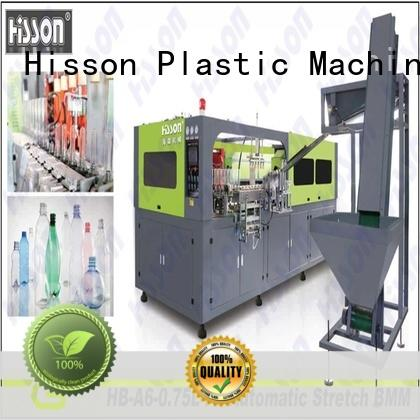 Hisson automatic blow moulding machine china in industrial