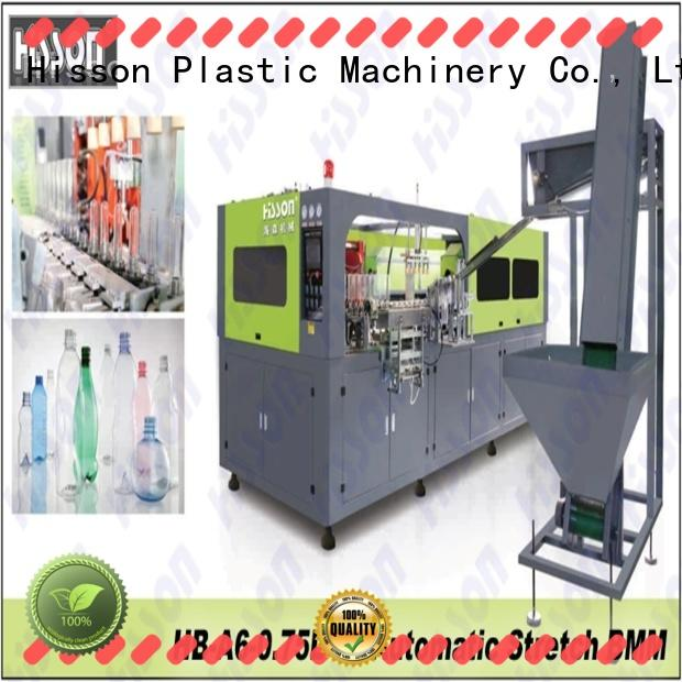 Hisson bottle blow molding machine price in industrial