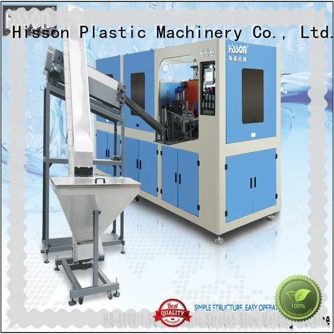 Hisson blow molding machine price price for bottle