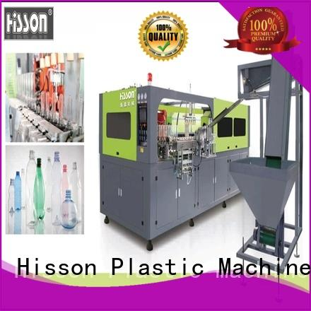 Hisson automatic stretch blow molding machine manufacturers china for bottle