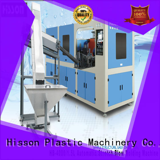 Hisson injection stretch blow molding machine factory factory