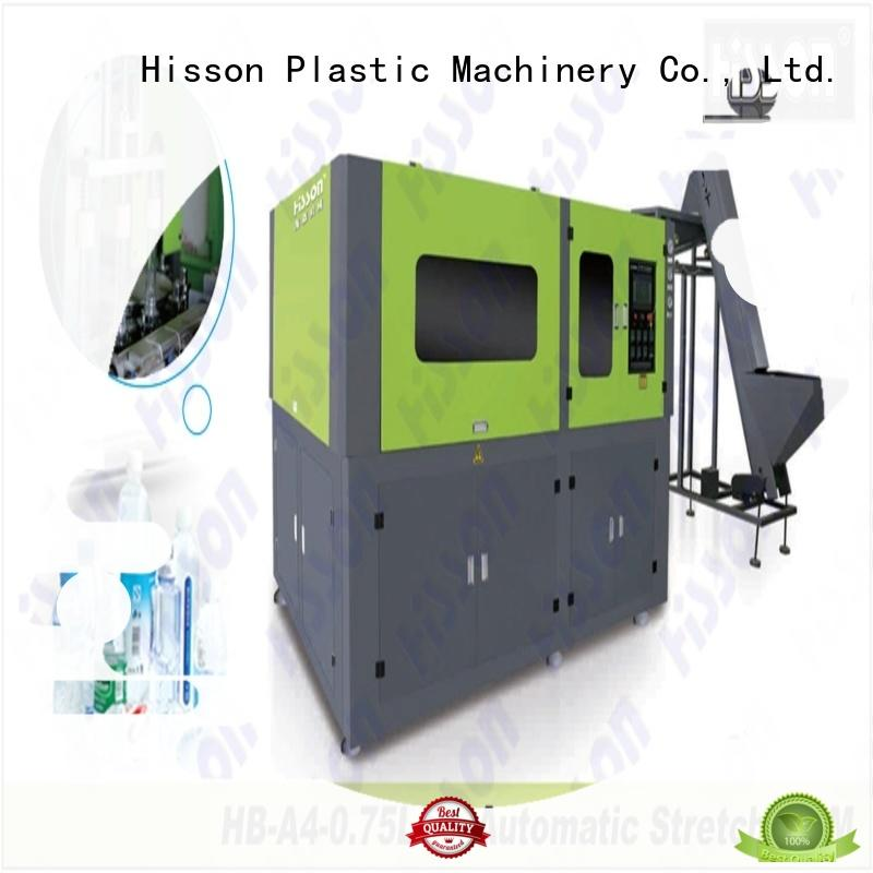 Hisson pet blow molding machine china in industrial
