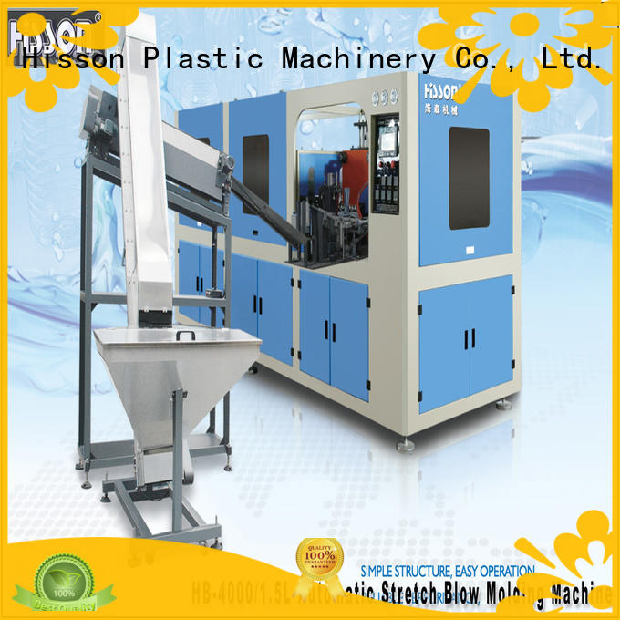 Hisson plastic bottle blowing machine suppliers factory