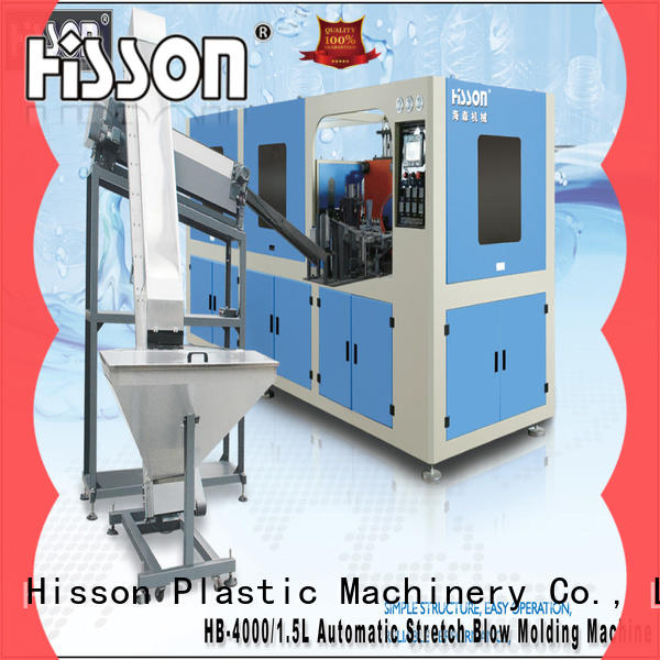 Hisson plastic blowing machine china in industrial