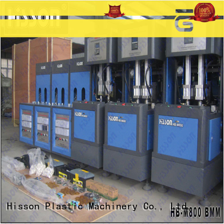 Hisson stretch blow molding machine factory in industrial