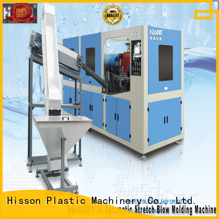 extrusion blow molding machine factory for bottle Hisson