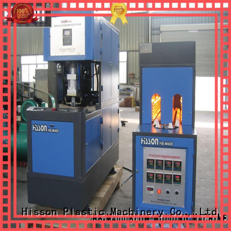 Hisson plastic automatic blow molding machine price for bottle