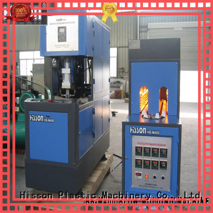 Hisson plastic automatic blow molding machine price for bottle