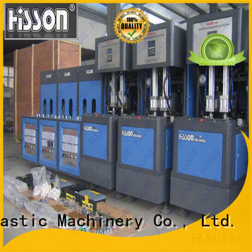Hisson stretch automatic blow molding machine price factory for bottle
