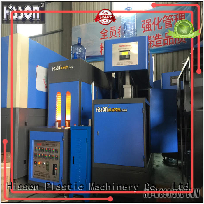 Hisson plastic stretch blow molding machine manufacturers factory for bottle