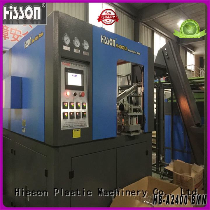 Hisson blow extrusion blow molding machine price in industrial