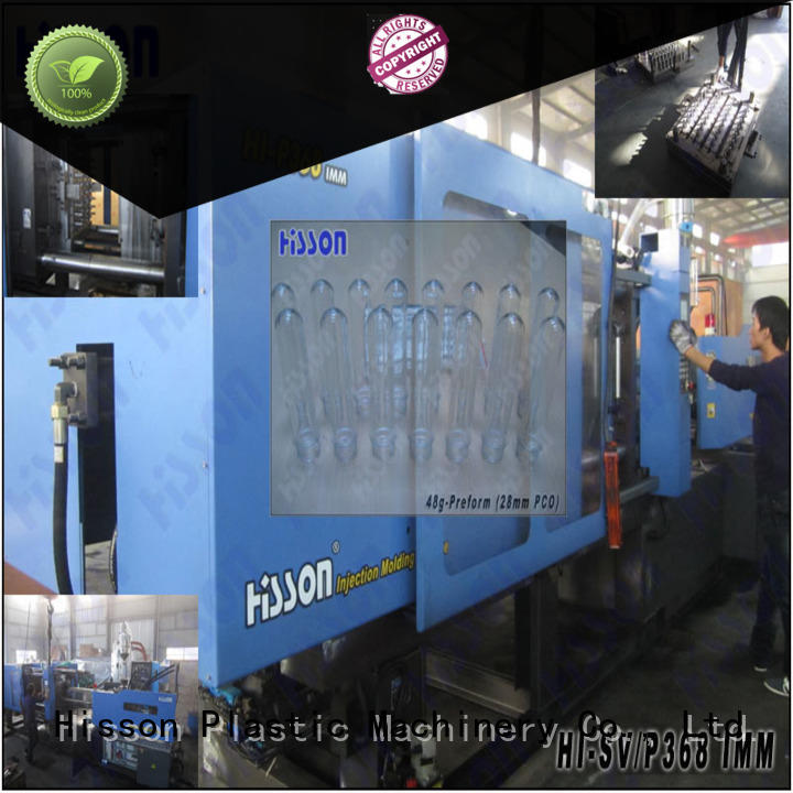 Hisson bottle plastic machine injection wide for bottle