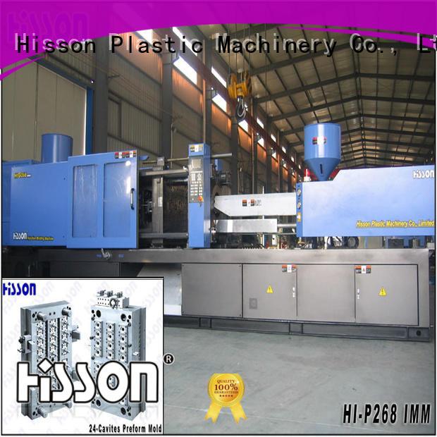 Hisson pvc preform moulding machine supplier factory