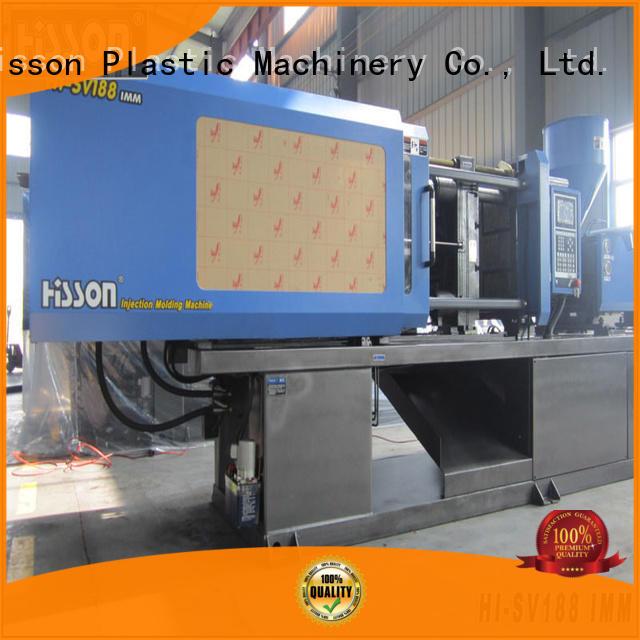 Hisson plastic injection molding machine for sale bumper