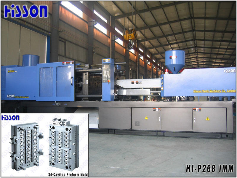 Hisson-PET preform injection moulding machine HI-SV-P268 IMM