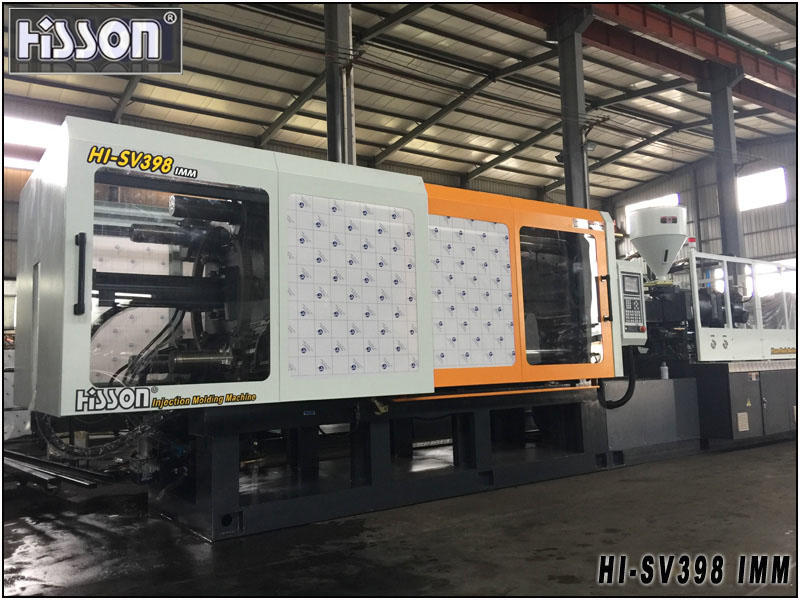 3980kn servo motor injection molding machine for garbage bin