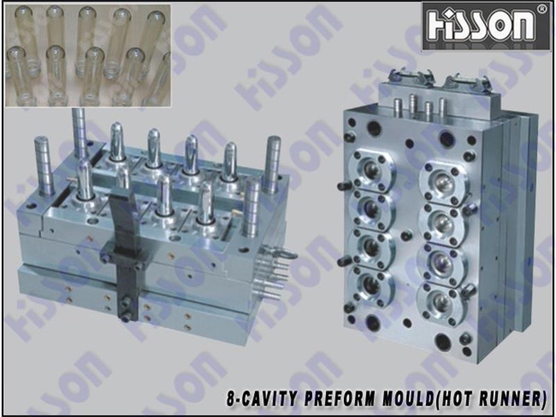 HISSON-40g 8-Cavity PET Preform Mold