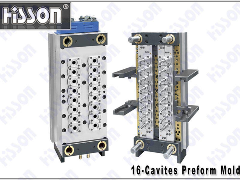 HISSON-24g 16-Cavity PET Preform Mold