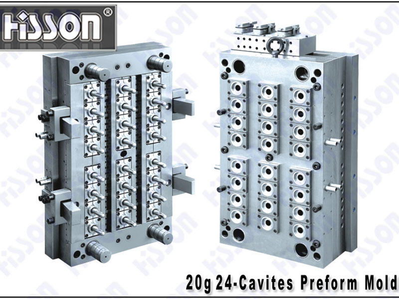 HISSON-20g 24-Cavity PET Preform Mold