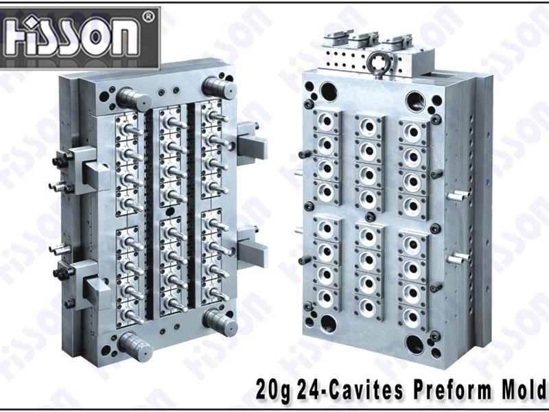 HISSON-20g 24-Cavity PET Preform Mold