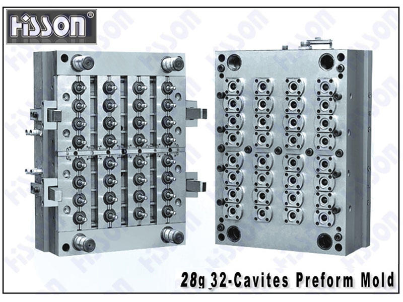 HISSON-28g 32-Cavity PET Preform Mold
