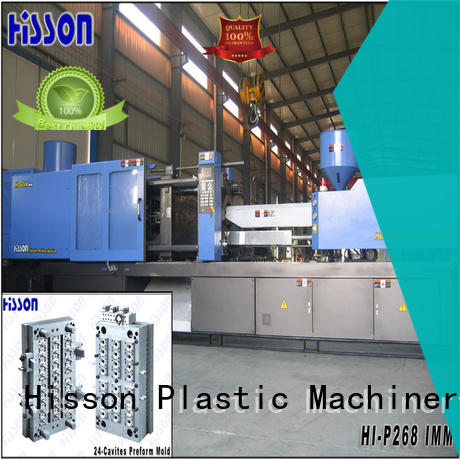 Hisson automatic plastic injection molding machine brands for bottle