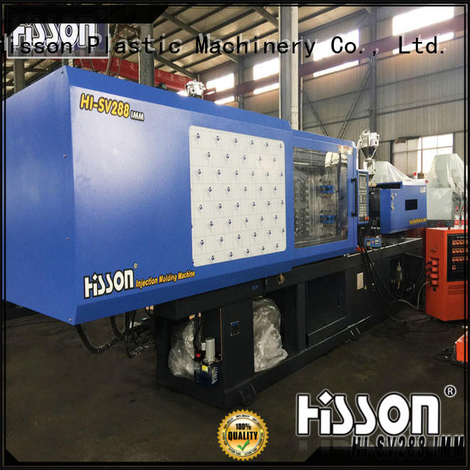 Hisson automatic injection molding machine factory car