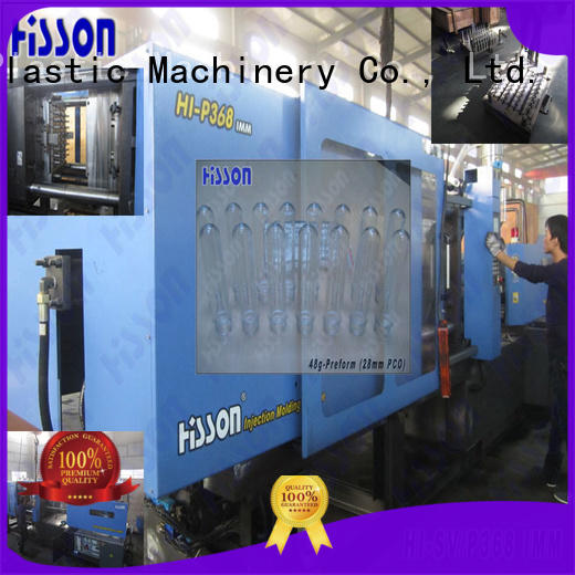 bottle horizontal injection moulding machine mouth factory